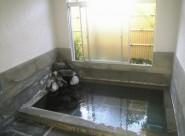 ゆったりと広いこだわりのお風呂