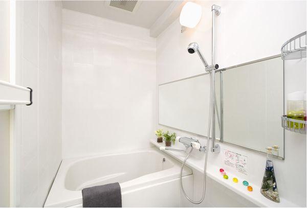 すっきりとシンプルなお風呂